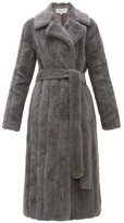 Gabriela Hearst Pavlovna Wool-blend Coat - Womens - Grey