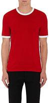 Neil Barrett Men's Tech-Knit T-Shirt-RED, WHITE