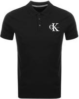 Calvin Klein Padd Polo T Shirt Black