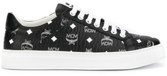 MCM Logo Low-Top Sneakers