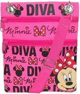 Disney Minnie Mouse Multi Pocket Cross Body Handbag