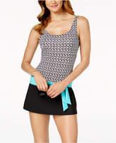 Jag Tiki Geo-Print Swimdress Women's Swimsuit