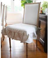 pom pom at home parson chair slipcover