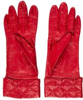 Chanel Lambskin Quilted Gloves