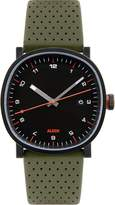 Alessi Men's AL5042 Tic15 Analog Display Analog Quartz Green Watch