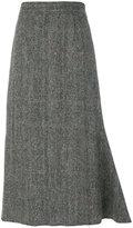 Maison Margiela structured hem skirt
