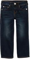 True Religion Geno Slim Straight Leg Jeans (Toddler & Little Boys)