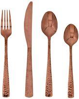 Food NetworkTM Martilla 16-pc. Hammered Copper Flatware Set
