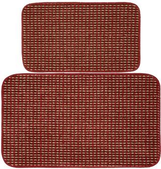 Garland Rug Berber Colorations 2-piece Kitchen Rug Set