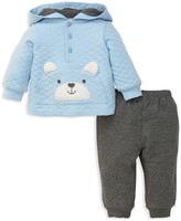 Little Me Boys' Bear Hoodie & Sweatpants Set