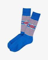Express Southwestern Stripe Dress Socks