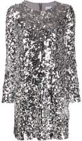 Blumarine Be sequin mini dress
