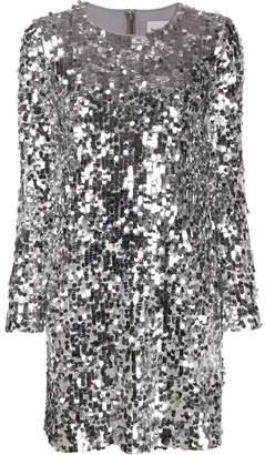 Blumarine Be sequin mini dress