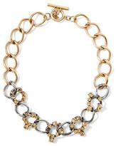 Banana Republic Cluster Link Necklace