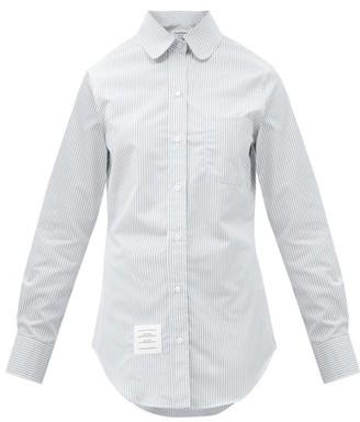 Thom Browne University Stripe Cotton-poplin Shirt - Grey Stripe