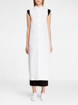DKNY Cross Back Sleeveless Blouse