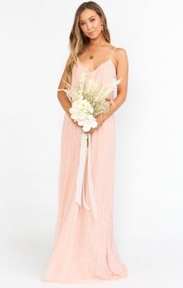 Show Me Your Mumu Victoria Beaded Maxi Dress