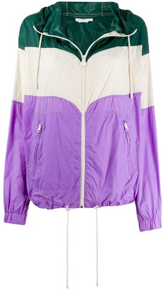 Etoile Isabel Marant colour block bomber jacket