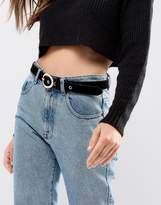 Pieces Oval Buckle Belt