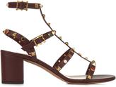 Valentino Rockstud Rolling leather sandals