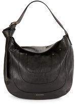 Calvin Klein Nola Textured Hobo Bag