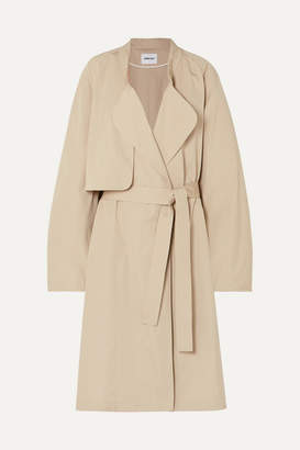 Ambush Belted Cotton Coat - Beige
