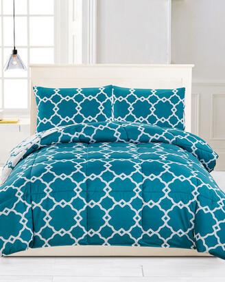 Kensie Greyson Down Alternative Reversible Comforter Set