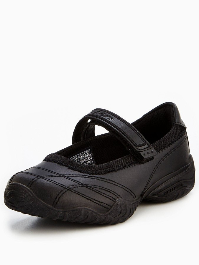 fa63289471805 Skechers Black Shoes For Girls - ShopStyle UK