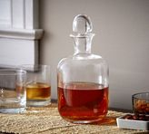 Pottery Barn Rounded Decanter