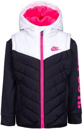 Nike Girls 4-6x 2fer Jacket