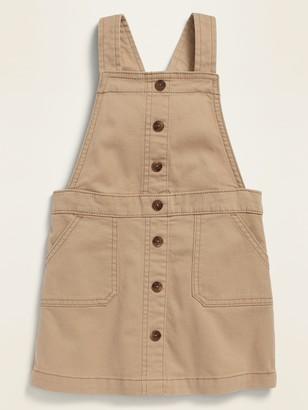 Old Navy Uniform Twill Jumper for Toddler Girls