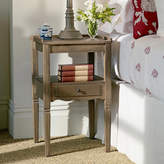 OKA Radnor Weathered Oak Bedside Table