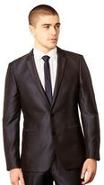 Thomas Nash Big And Tall Blue Tonic Suit Jacket