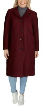 Jones New York Plus Size Maxi Coat