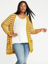 Old Navy Plus-Size Open-Front Long-Line Cardi