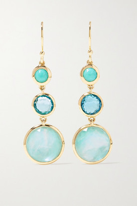 Ippolita Lollipop 18-karat Green Gold Multi-stone Earrings
