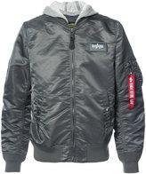 Alpha Industries L-2B bomber jacket - unisex - Cotton/Nylon - XS