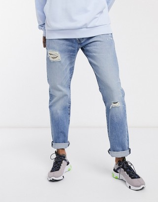Levi's 501 '93 straight fit jeans in dx