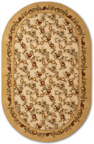 JCPenney Brumlow Elegant Fruit Washable Runner Rug