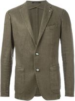 Tagliatore two button blazer - men - Cotton/Linen/Flax/Viscose - 52