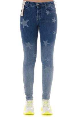 Stella McCartney Denim Cotton Skinny Jeans With Stars