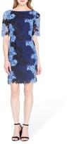 Tahari Petite Women's Lace Sheath Dress
