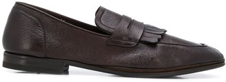 Henderson Baracco Round Toe Slip-On Loafers