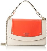 GUESS Hwpa6690210, Women's Top-Handle Bag, Multicolore (Lipstick), 16x24x42 cm (W x H L)
