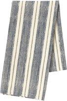 Pehr Designs Corsica Stripe Tea Towel, Navy/Stone - Navy/Stone