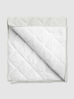 Thumbnail for your product : Louelle French Grey + White Linen Reversible Play Mat / Quilt