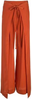 Chloé loose fit terracotta pants