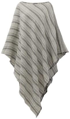 SU PARIS Sam Striped Cotton Kaftan - Grey Stripe