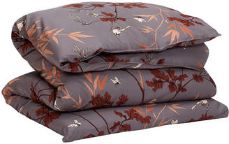Gant Birdfield Duvet Cover - Sky Grey - Super King