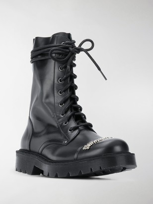 Vetements Combat ankle boots